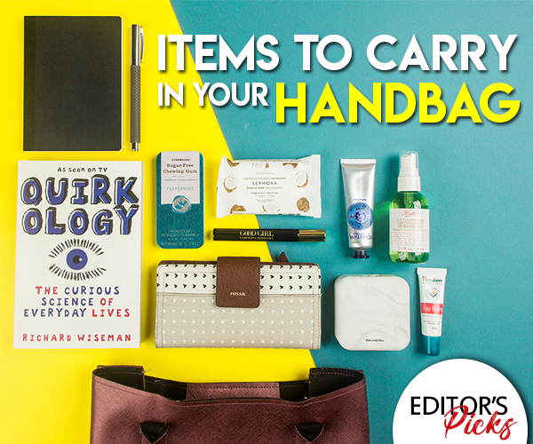 ITEMS TO CARRY IN YOUR HANDBAG
