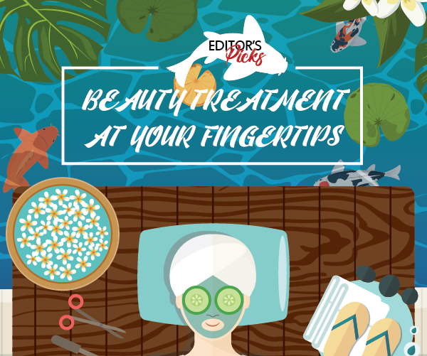 BEAUTY TREATMENT AT YOUR FINGERTIPS