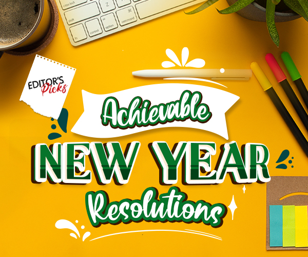 ACHIEVEABLE NEW YEAR RESOLUTIONS