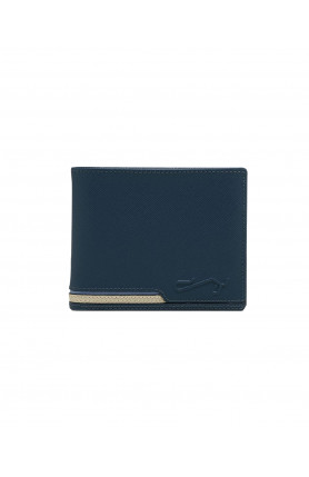 MIDNIGHT NAVY BIG MONEY WALLET WITH COIN COMPARTMENT
