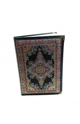 LARGE TEXTILE NOTEBOOK