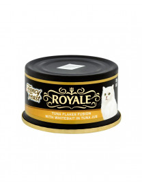 FANCY FEAST ROYALE TUNA FLAKES V WHITEBAIT 85G