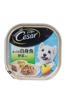 CESAR - WHITE FISH W VEGE 100G