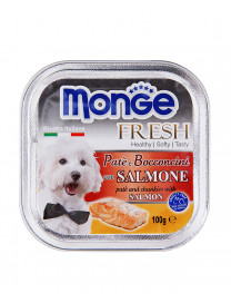 MONGE FRESH SALMON 100G