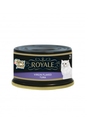 FANCY FEAST ROYALE VIRGIN FLAKED TUNA 85G