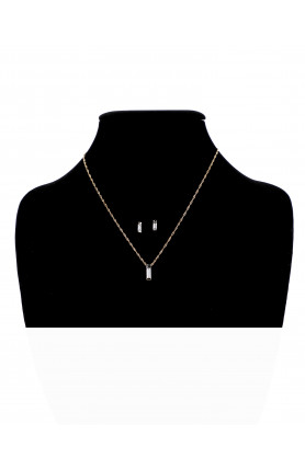 PRECIOUS LOVE NECKLACE WITH MATCHING EARRINGS SET 5