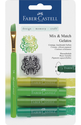 GELATOS CRAYONS 4PCS GREEN