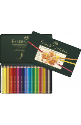 Polychromos Artists Colour Pencils Tin of 36