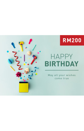 HAPPY BIRTHDAY 3 (RM200)