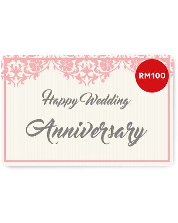 Happy wedding anniversary e gift card rm100 negle Image collections