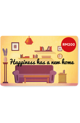 New Home e-Gift Card (RM200)