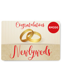 WEDDING E-GIFT CARD 1 (RM200)