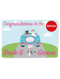 WEDDING E-GIFT CARD 2 (RM100)