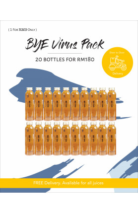 BYE VIRUS PACK - 20 BOTTLES FOR RM180