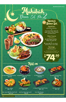 [FOOD DELIVERY] MUHIBAH DINNER SET FOR 2