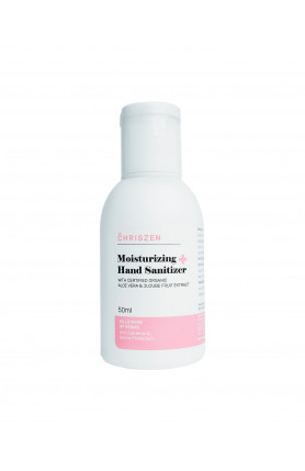 MOISTURIZING HAND SANITIZER (FLIP WHITE) 50ML