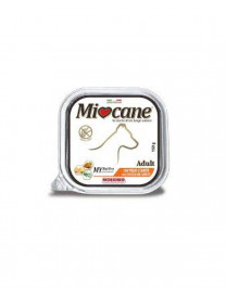 MIOCANE PATÉ GRAIN FREE ALUTRAY WITH CHICKEN AND CARROT..