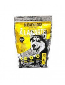ALA CARTE CHICKEN AND RICE DOG DRY FOOD 1.5KG