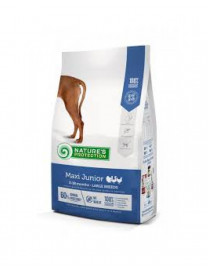 NATURE'S PROTECTION MAXI JUNIOR DOG DRY FOOD 4KG