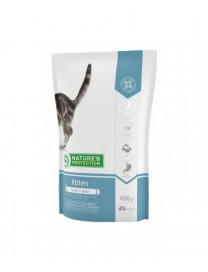 NATURE'S PROTECTION KITTEN CAT DRY FOOD 400G