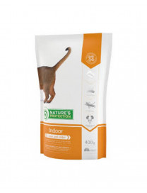 NATURE'S PROTECTION INDOOR CAT DRY FOOD 400G