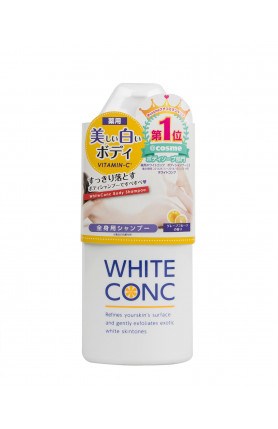 WHITE CONC BODY SHAMPOO 360ML