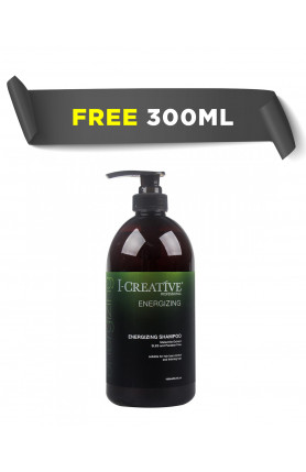 (FREE 300ML) I-CREATIVE ENERGIZING SHAMPOO 1000ML