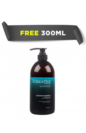 (FREE 300ML) I-CREATIVE NUTRITION SHAMPOO 1000ML