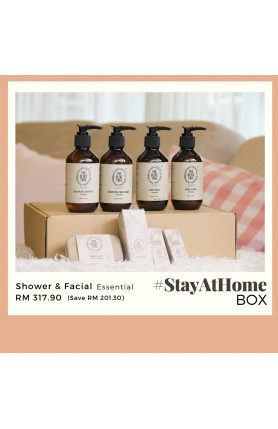 THE OLIVE TREE SHOWER & FACIAL ESSENTIAL #STAYATHOME BO..