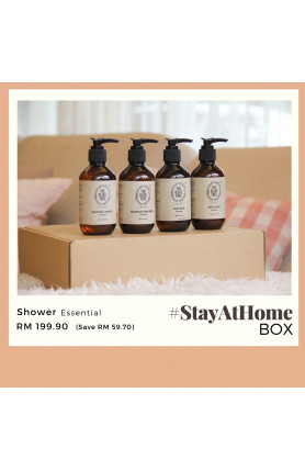 THE OLIVE TREE SHOWER ESSENTIAL #STAYATHOME BOX
