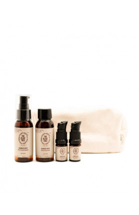DAMASK ROSE FLORAL FACIAL CARE TRAVEL SIZE SET