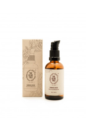 HYDRATING DAMASK ROSE FLORAL FACIAL MOISTURISER - 50ML