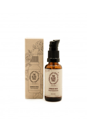 HYDRATING DAMASK ROSE FLORAL FACIAL SERUM - 30ML