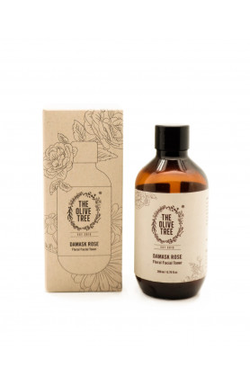 HYDRATING DAMASK ROSE FLORAL FACIAL TONER - 200ML