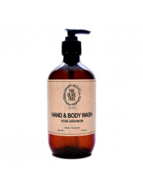 ROSE GERANIUM HAND AND BODY WASH 500ML
