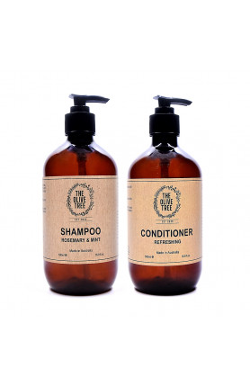 ROSEMARY MINT SHAMPOO AND REFRESHING CONDITIONER HAIR C..