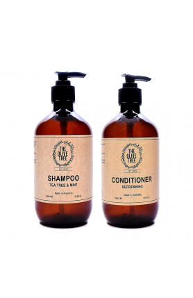 TEA TREE MINT SHAMPOO AND REFRESHING CONDITIONER HAIR C..
