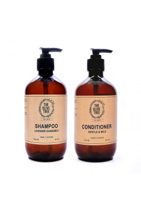 LAVENDER CHAMOMILE SHAMPOO AND GENTLE MILD CONDITIONER ..