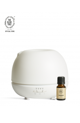 500ML ULTRASONIC DIFFUSER WITH FREE 10ML PURE LEMONGRAS..