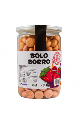 PETIDO BOLO-BORRO - STRAWBERRY BUNS 220G