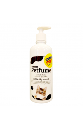 CHUN PETFUME GOAT MILK CAT SHAMPOO 400ML + 100ML