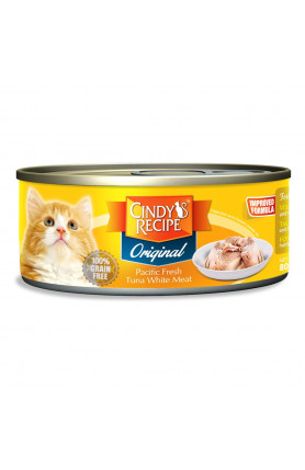 CINDY ORIGINAL PACIFIC FRESH TUNA 80G