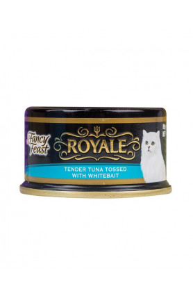 FANCY FEAST ROYALE TUNA TOSSED WITH WHITEBAIT 85G