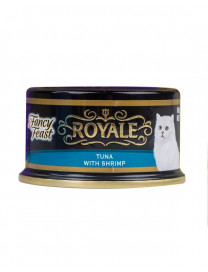 FANCY FEAST ROYALE YELLOW FIN TUNA WITH SHRIMP 85G