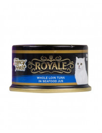 FANCY FEAST ROYALE WHOLE LOIN TUNA IN SEAFOOD 85G