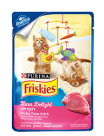 FRISKIES KITTEN TUNA DELIGHT POUCH 80G