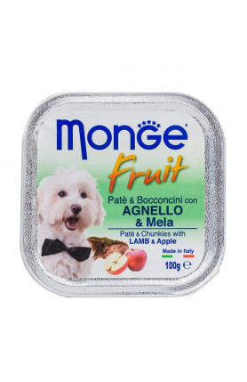 MONGE FRUITS LAMB & APPLE 100G