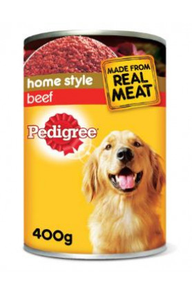 PEDIGREE BEEF CAN 400G