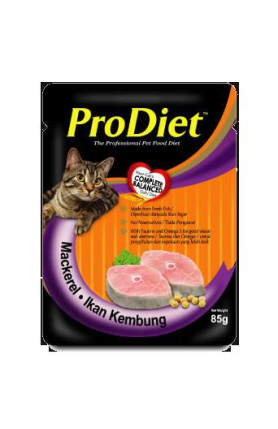 PRODIET MACKEREL 85G