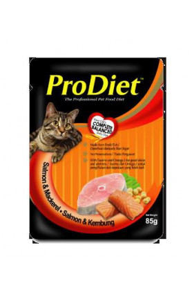 PRODIET SALMON & MACKEREL 85G
